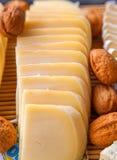 bryka serowych składu kuchni bakalii winogron oliwek pieprze Obrazy Stock