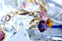 brylanta pierścionek Obrazy Royalty Free