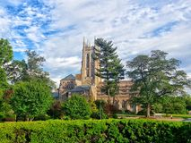 Bryn Athyn大教堂 库存图片