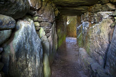 Bryn Celli Ddu- Ancient Burial Chamber Royalty Free Stock Photos