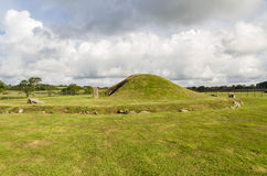 Bryn Celli Ddu prehistoric passage tomb. Royalty Free Stock Photo