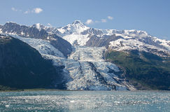 Bryn Mawr Glacier in College Fjord Royalty Free Stock Image