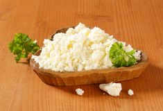 Bryndza cheese Royalty Free Stock Images