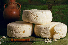 Brynza cheese Royalty Free Stock Images
