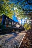 Bryson市, NC 2016年10月23日-大烟山火车r 库存照片