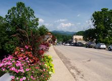 Bryson City, Nord Carolina immagine stock