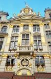 Bryssel Belgien Europa huvudstad Arkivfoto