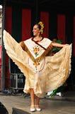 Dansare av Xochicalli mexicansk folkloric balett Royaltyfri Bild