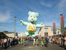 Ballongdagen ståtar i Bryssel Royaltyfria Bilder