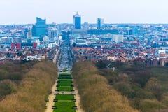 Bryssel Bruxelles, Belgien Royaltyfri Foto