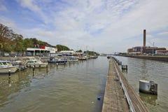 Bryssel kunglig yachtklubba Fotografering för Bildbyråer