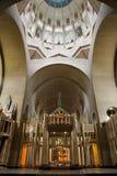 Bryssel - nationell Basilica av den sakrala hjärtan Arkivfoto