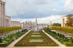 Bryssel på hösten Arkivfoton