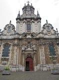 Bryssel - Sanktt John The Baptist kyrka Royaltyfri Bild