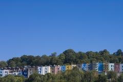 brystol mieści miasteczko zdjęcie stock