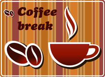 bryt kaffe Royaltyfria Foton