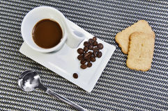 bryt kaffe Fotografering för Bildbyråer