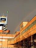 bryta annat över regnbågen Royaltyfri Fotografi