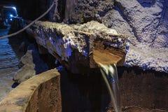 bryta den salt wieliczkaen Fotografering för Bildbyråer