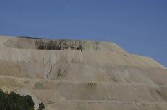 Bryta för Activre guld som lokaliseras i Victor Colorado Arkivbild