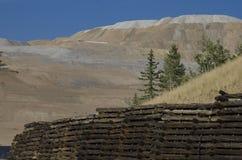 Bryta för Activre guld som lokaliseras i Victor Colorado Arkivfoto