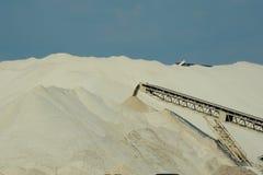 Bryta för Frac Sand Arkivfoto