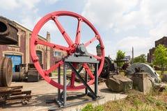 Bryta maskiner för coalmining och bearbeta Royaltyfria Foton