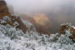 Bryta stormen - Grand Canyon Royaltyfri Foto