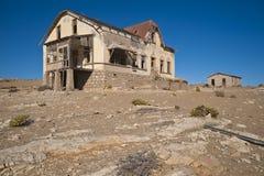 bryta town för diamantspökekolmanskop Arkivfoton