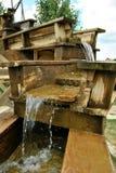Bryta vattensärdraget Royaltyfri Fotografi