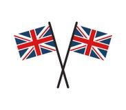 brytania super bandery Zdjęcia Royalty Free
