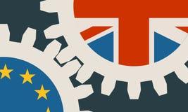 Brytania wyjście od Europejskiego zjednoczenia krewnego wizerunku Zdjęcie Stock