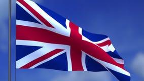 brytanii bandery united zdjęcie wideo