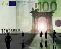 brytanii euro Zdjęcie Royalty Free