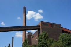 bryter död industri för kol arkivbilder