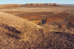 Brytningreserven nära Coober Pedy i södra Australien, Australien Arkivfoton