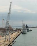Brytyjscy okręty wojenni Obraz Royalty Free