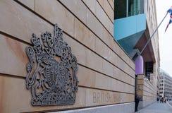 Brytyjska ambasada Fotografia Stock