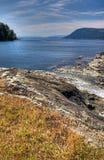 brytyjska columb zatoki wysp park narodowy rezerwa Zdjęcia Royalty Free