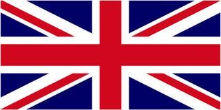 brytyjska flagę Obraz Stock