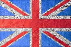 brytyjska flagę Zdjęcie Royalty Free