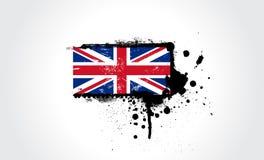 brytyjska flagę Zdjęcia Stock