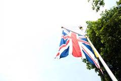 brytyjska flagę Zdjęcie Stock