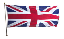 brytyjska flagę Obrazy Stock