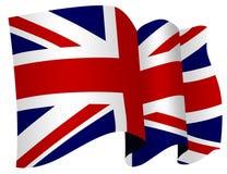 brytyjska flaga Fotografia Royalty Free