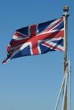 brytyjska flaga Obrazy Royalty Free