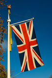 brytyjska flaga Zdjęcia Royalty Free