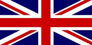 brytyjska flaga Zdjęcie Stock
