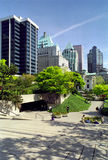 brytyjska kolumbiego Robson kwadrat Vancouver obrazy stock