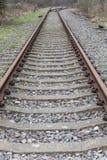 Disused Brytyjska linia kolejowa Zdjęcia Stock